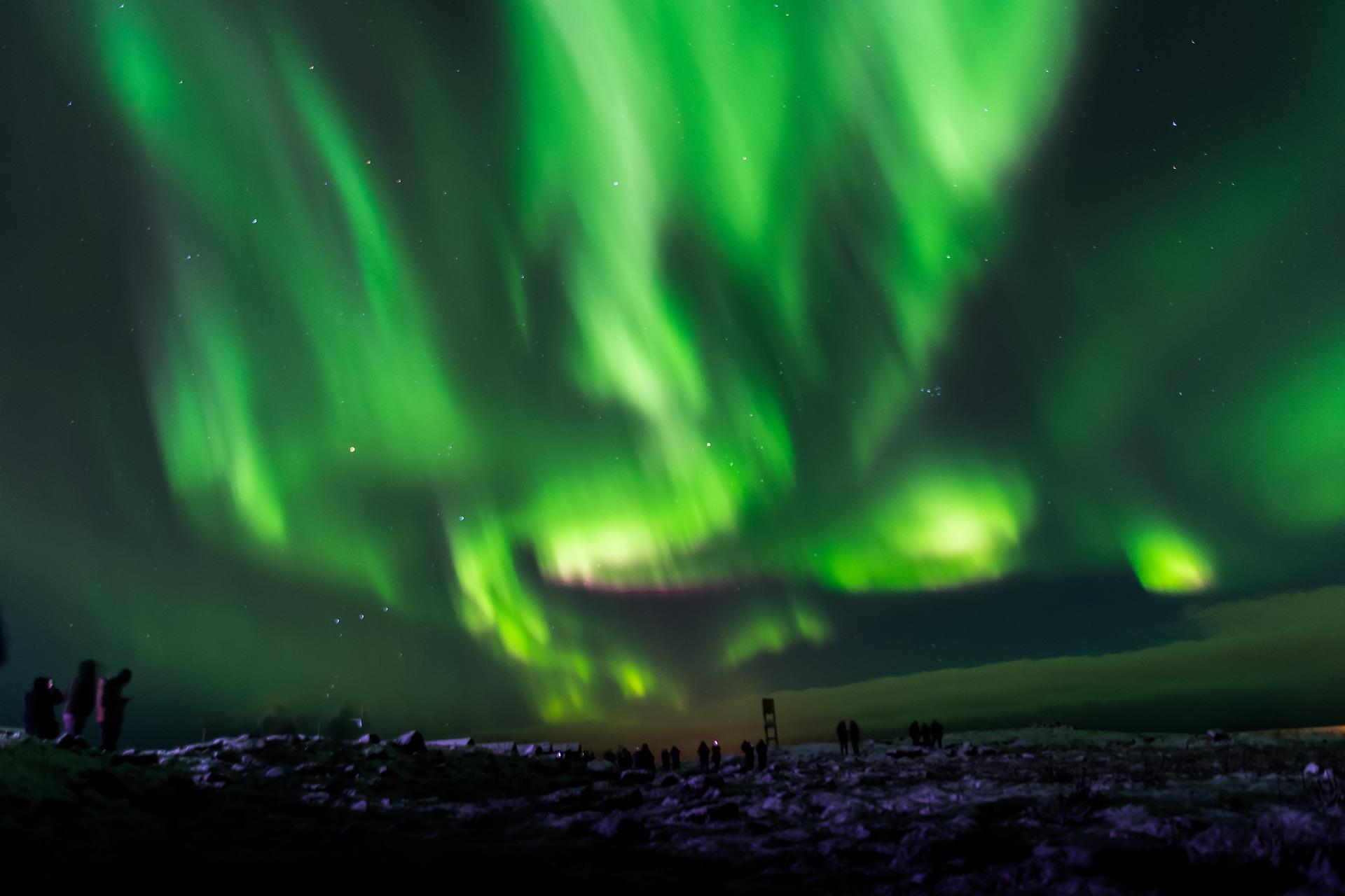 ісландія північне сяйво