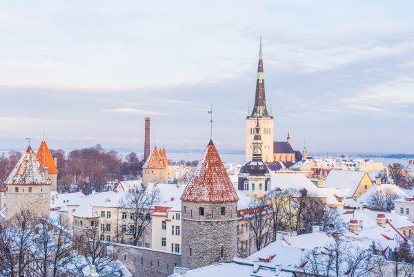 таллінн панорама зима