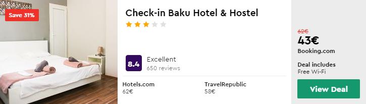 Check-in Baku Hotel & Hostel