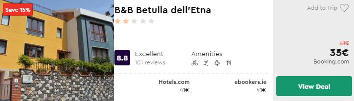 B&B Betulla dell'Etna