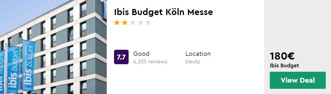Ibis Budget Köln Messe