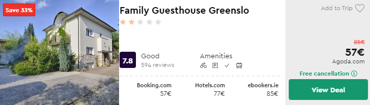 Family Guesthouse Greenslo