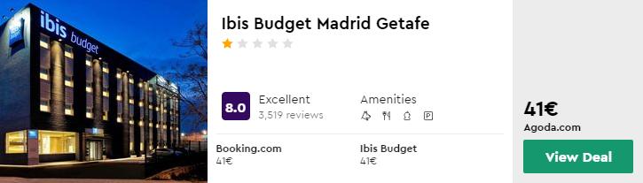 Ibis Budget Madrid Getafe