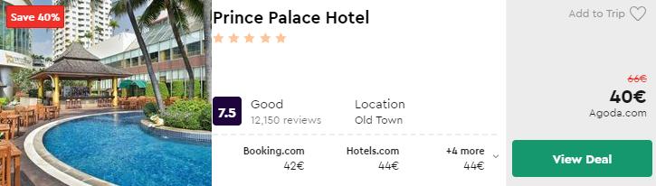 Prince Palace Hotel