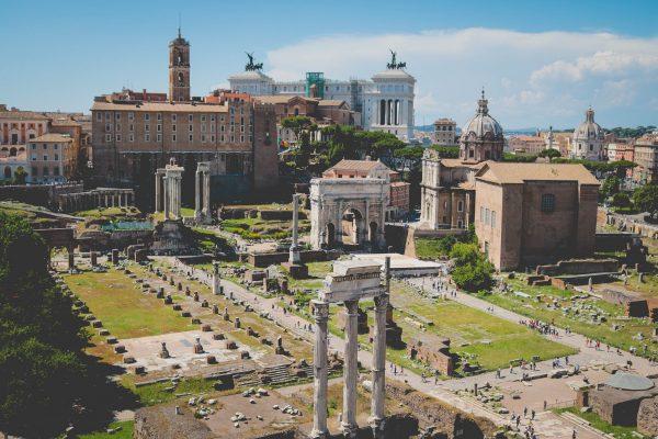 рим рухни стародавнього міста