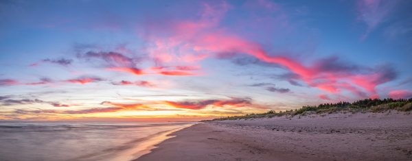 балтийське море захід сонця