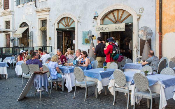 Ресторан в Римі