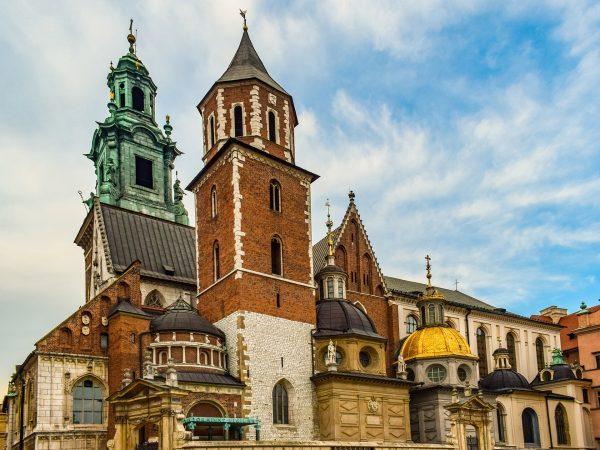 Польща Краків замок Вавель