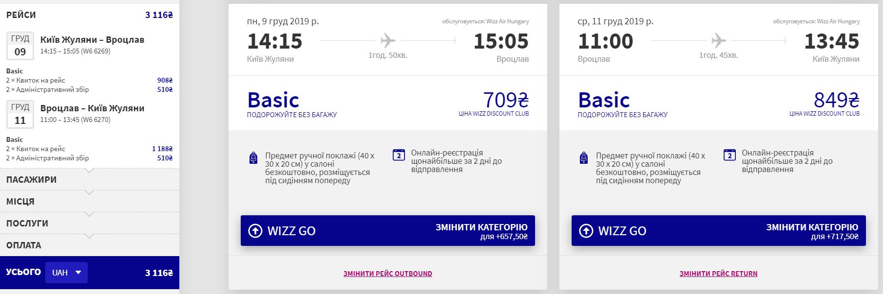 Київ – Вроцлав – Київ
