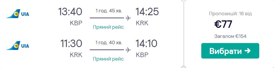 Київ – Краків – Київ