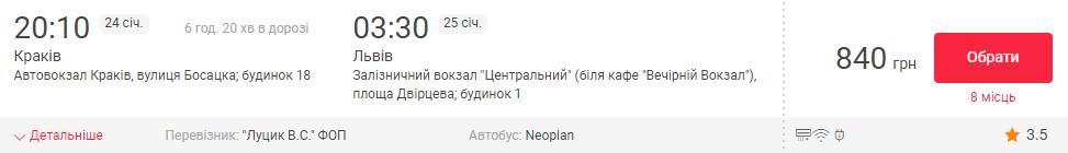 Краків– Львів