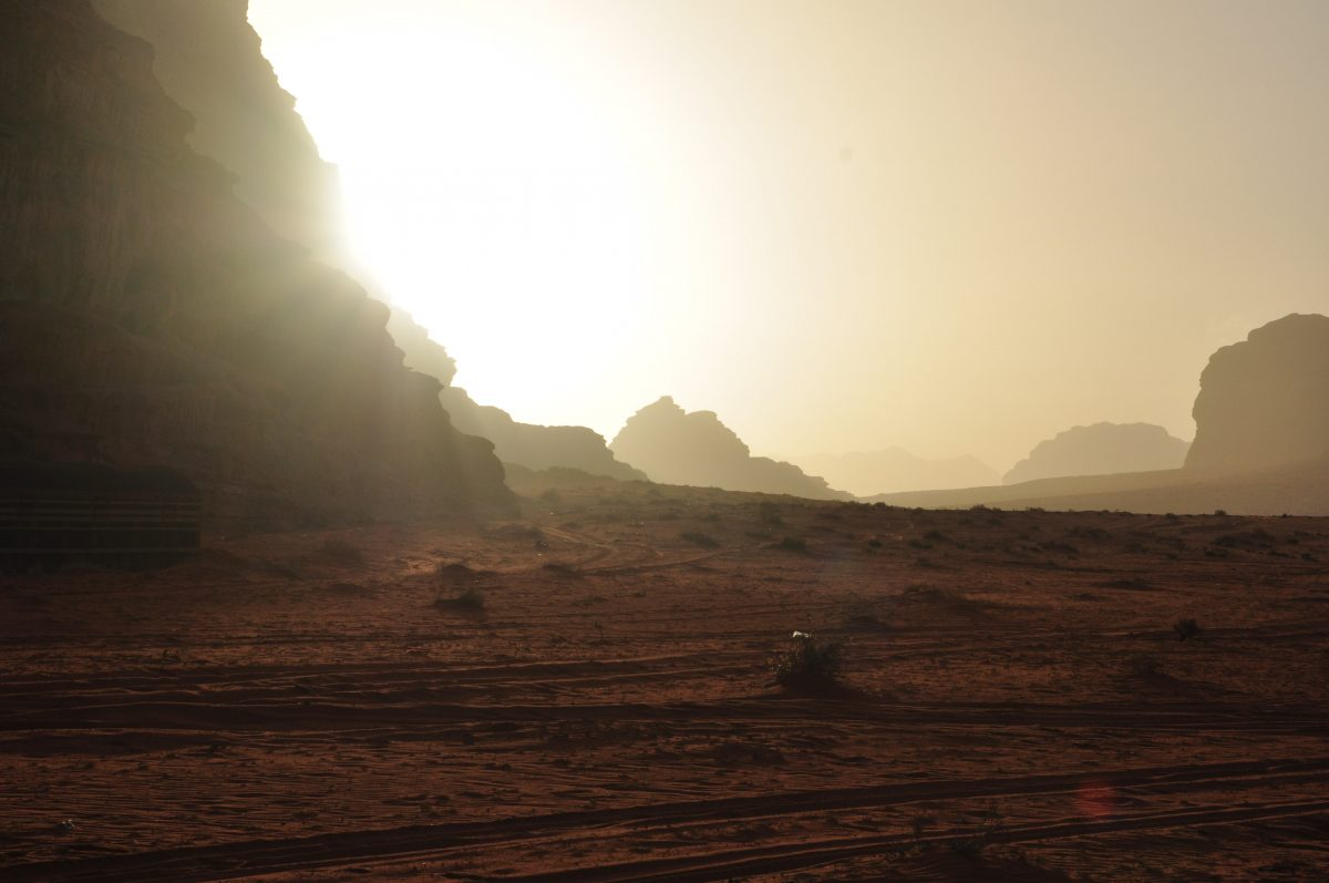 пустеля в Йорданії