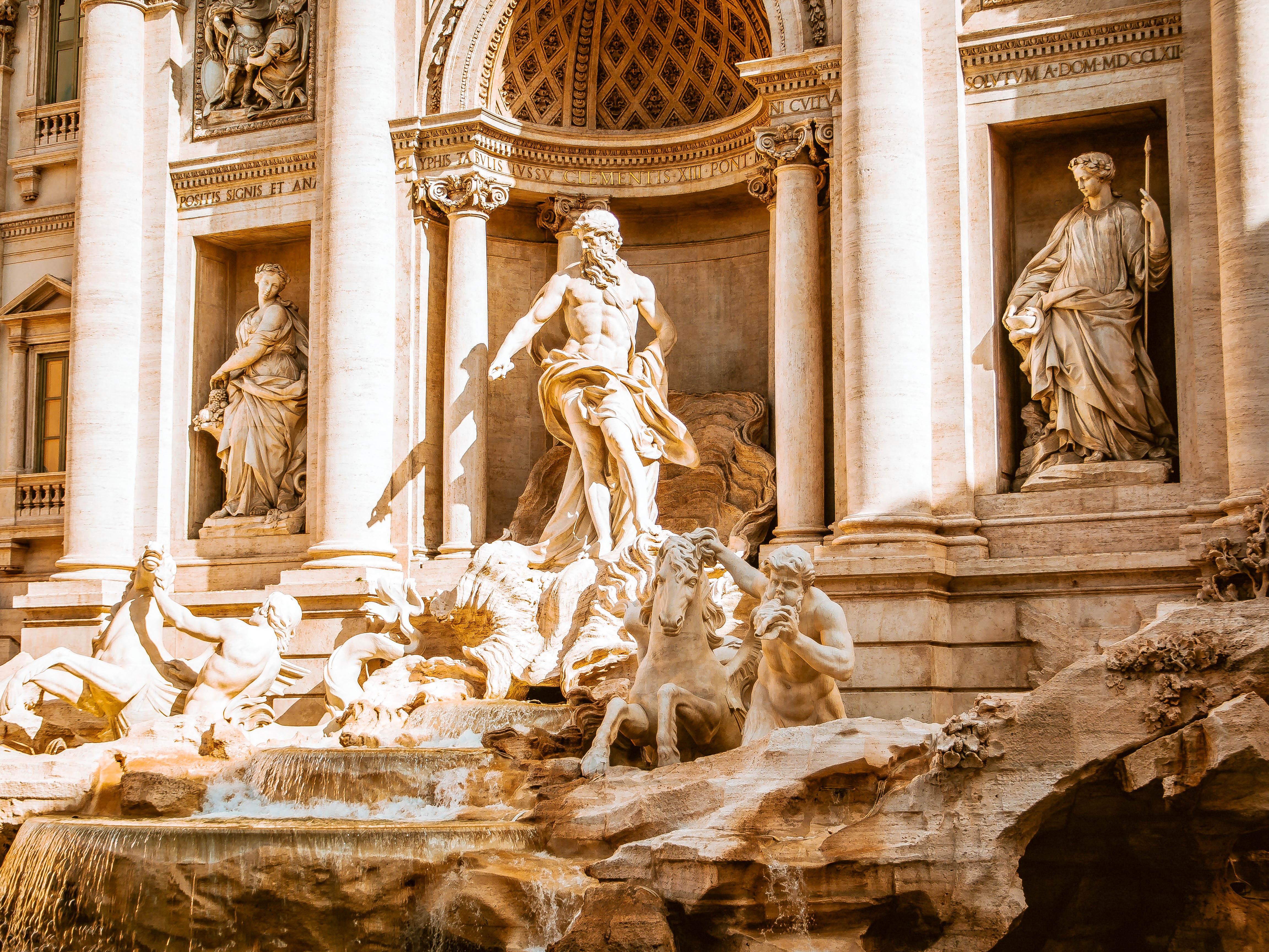 Італія Рим фонтан Треві