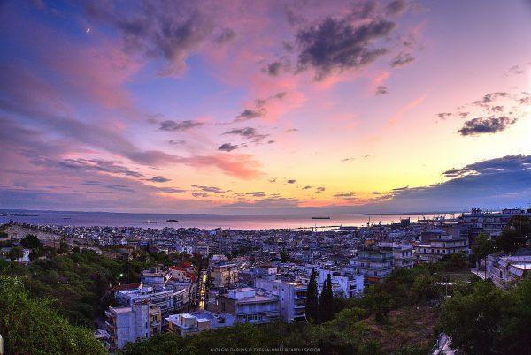 салоніки панорама міста
