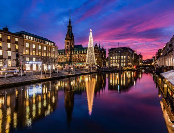 Німеччина Гамбург Різдво