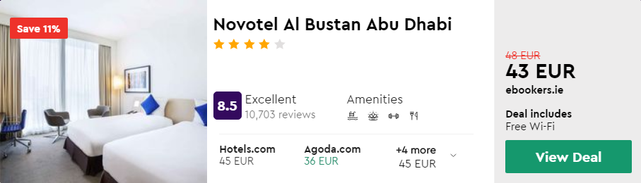 Novotel Al Bustan Abu Dhabi