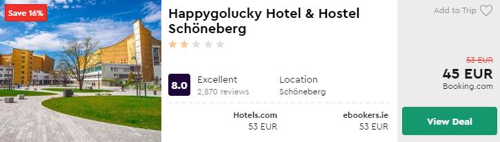 Happygolucky Hotel & Hostel Schöneberg