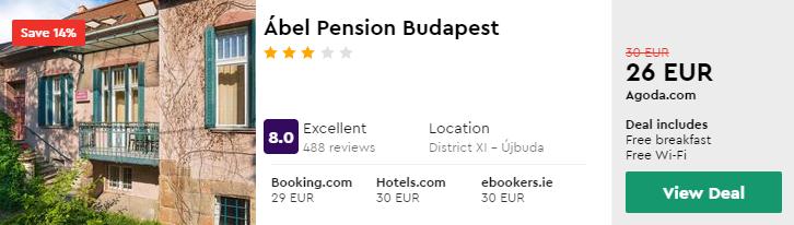 Ábel Pension Budapest