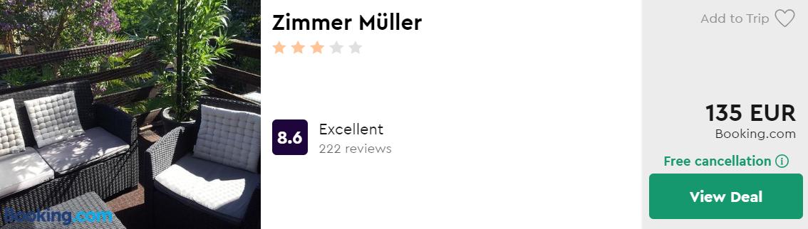Zimmer Müller