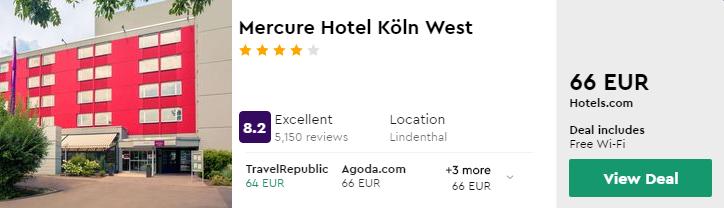 Mercure Hotel Köln West