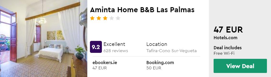Aminta Home B&B Las Palmas