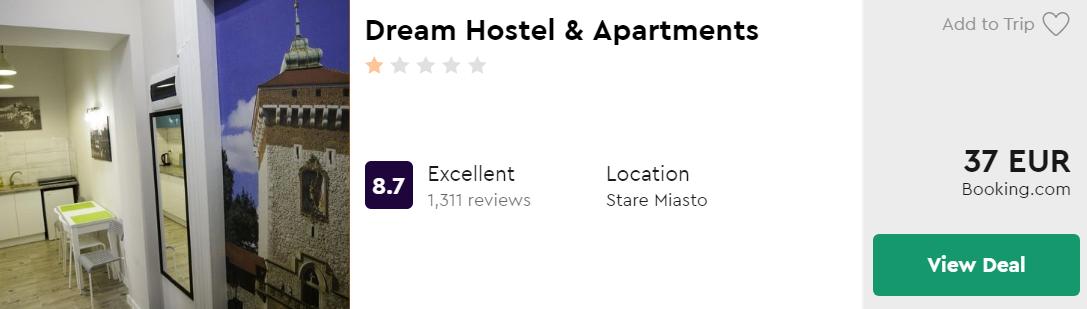 Dream Hostel & Apartments