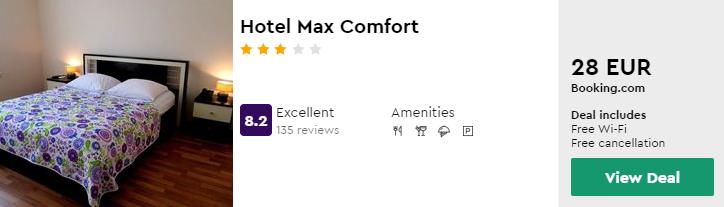 Hotel Max Comfort