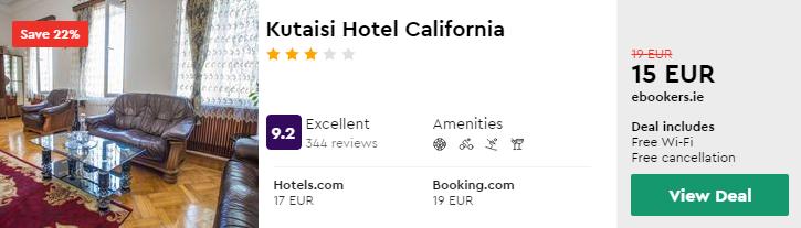 Kutaisi Hotel California