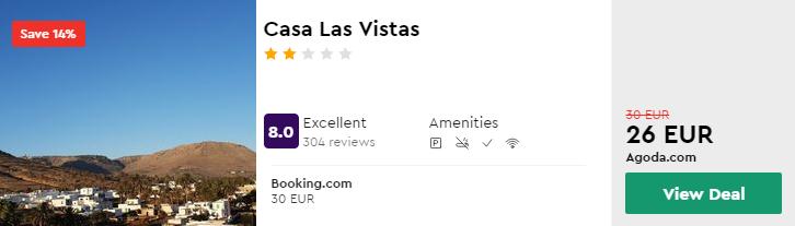 Casa Las Vistas