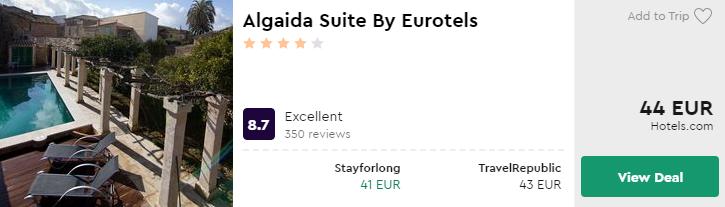 Algaida Suite By Eurotels