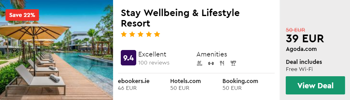 Stay Wellbeing & Lifestyle Resort