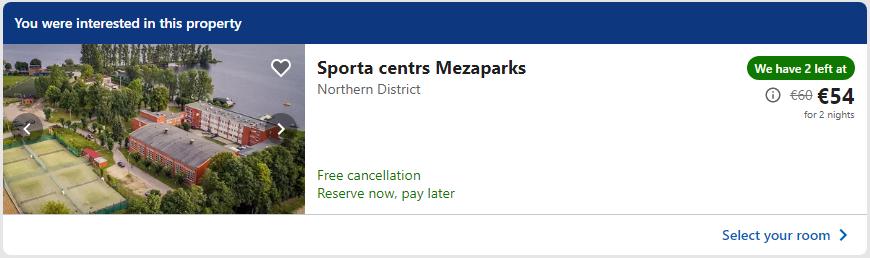 Sporta Centrs Mezaparks