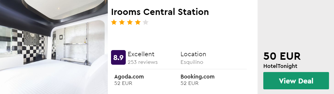 Irooms Central Station