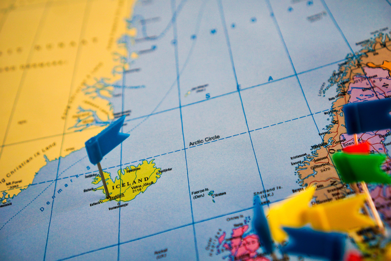 Подорож Європа мапа