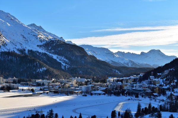 Швейцарія Альпи Санкт-Моріц
