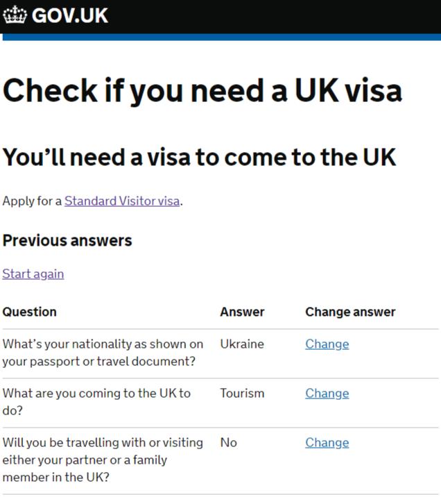 Віза до Великої Британії