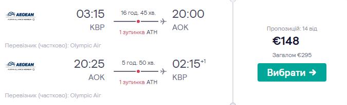 Київ - Карпатос - Київ >>