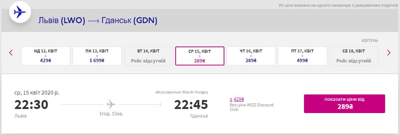 Львів - Гданськ