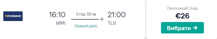 Варшава - Тель-Авів