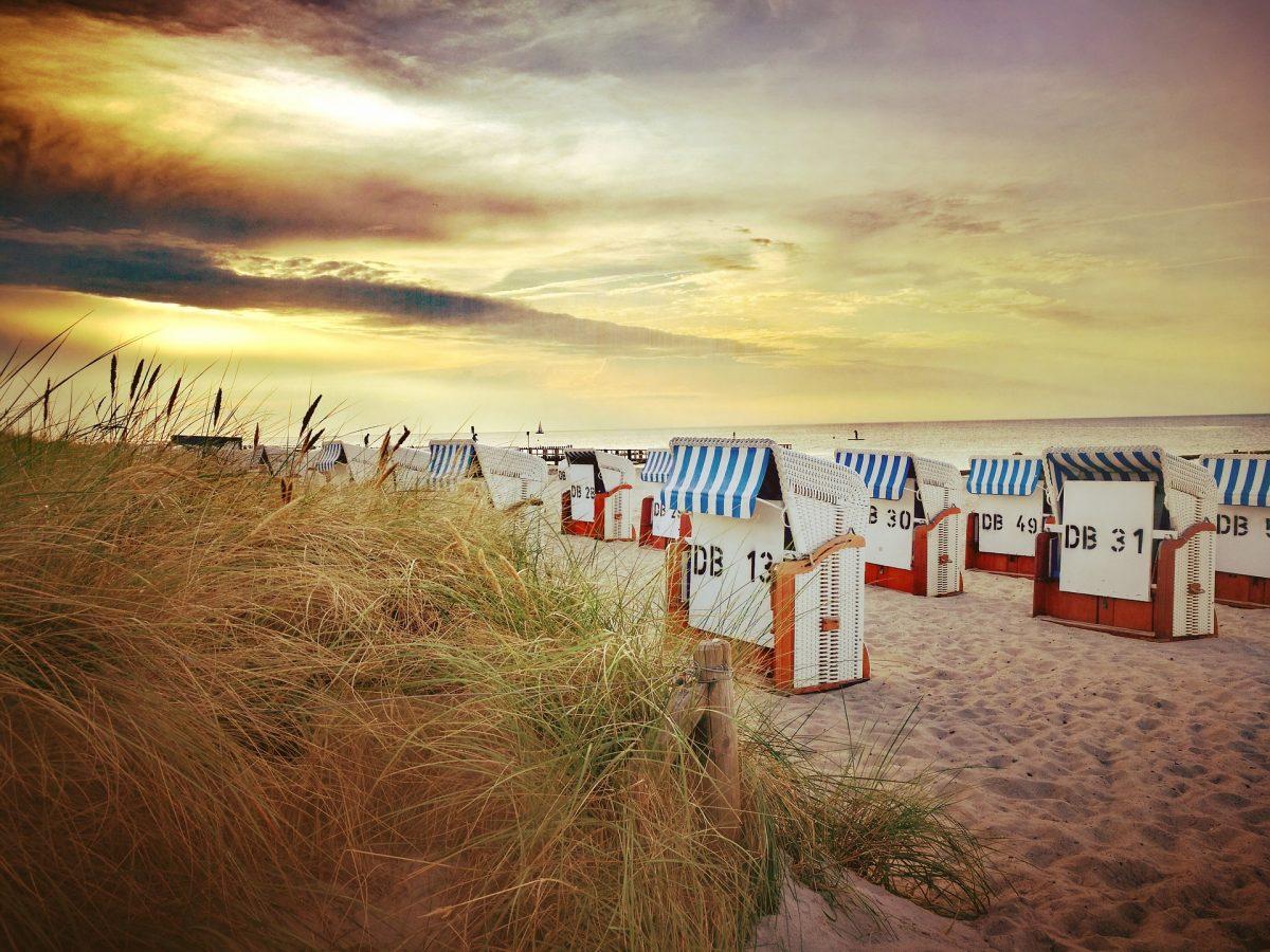 варнемюнде пляж