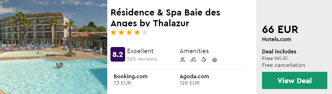 Résidence & Spa Baie des Anges by Thalazur
