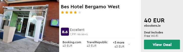 Bes Hotel Bergamo West