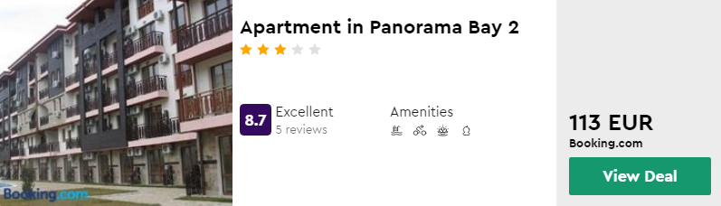 Apartment in Panorama Bay 2