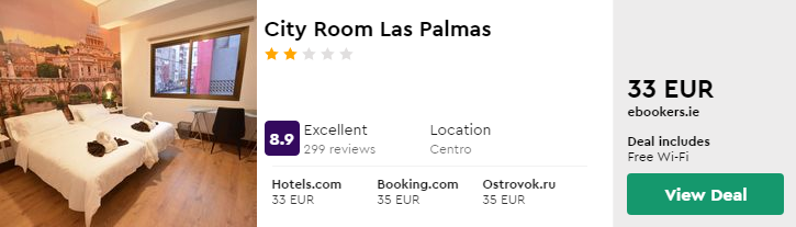 City Room Las Palmas