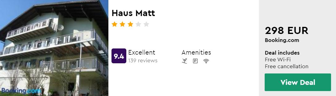 Haus Matt