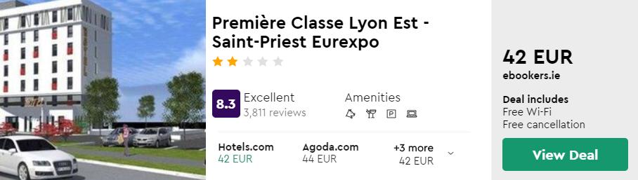 Première Classe Lyon Est - Saint-Priest Eurexpo