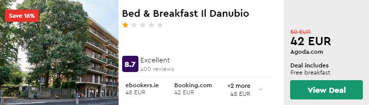 Bed & Breakfast Il Danubio