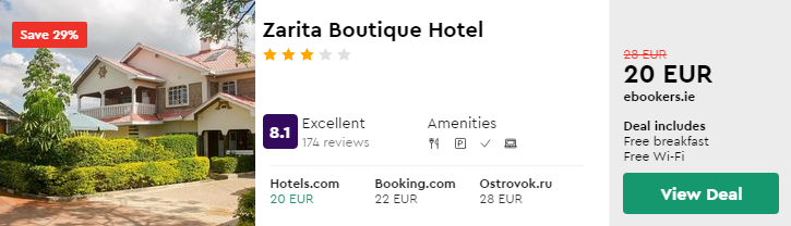 Zarita Boutique Hotel