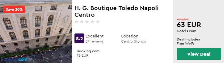 H. G. Boutique Toledo Napoli Centro