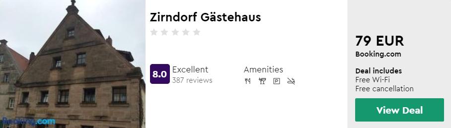 Zirndorf Gästehaus